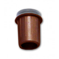 TOPE AMORTIGUADOR ENCASTRABLE D: 10MM MARRON